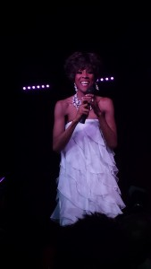 Model, Lupus Survivor, and Whitney Houston Impersonator Sherry Yvette does a number.