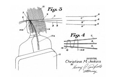 Diagram from Christina Jenkins' patent filed in 1951-US Patent 2621663